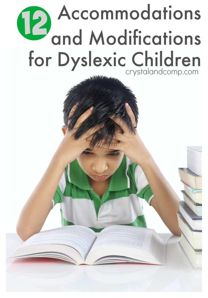 Accoomodations for Dyslexic Children