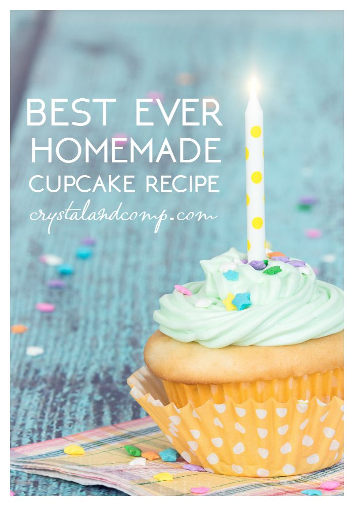 best homemade cupcake recipe