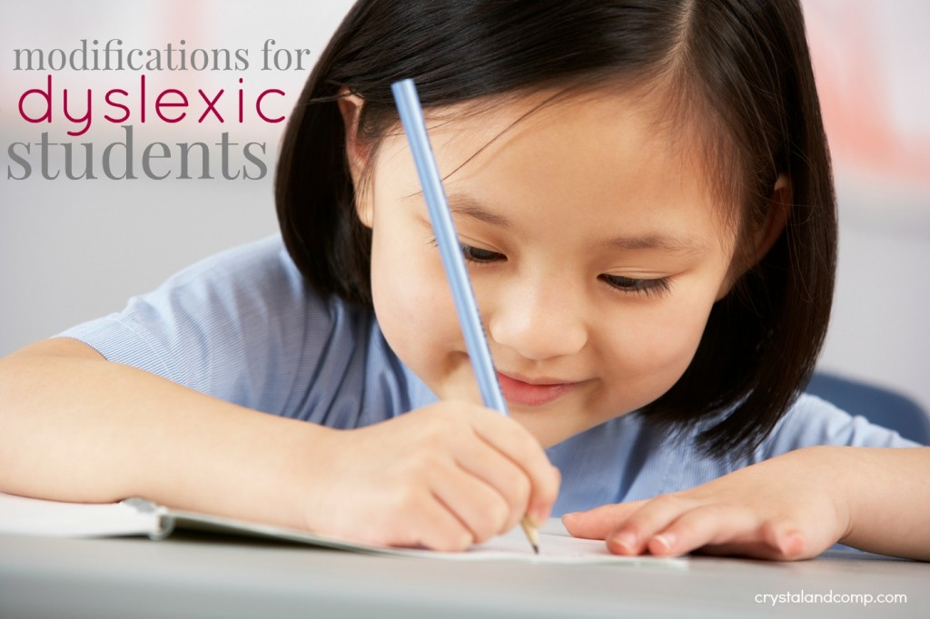 modifications for dyslexic students