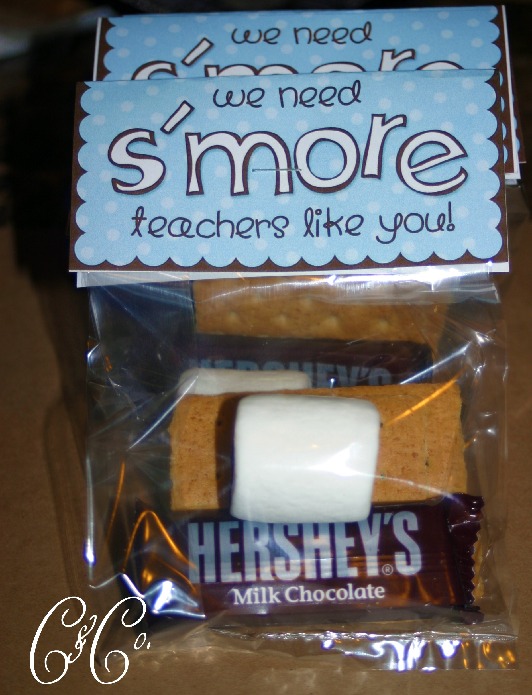 S'more Teacher Appreciation Gifts