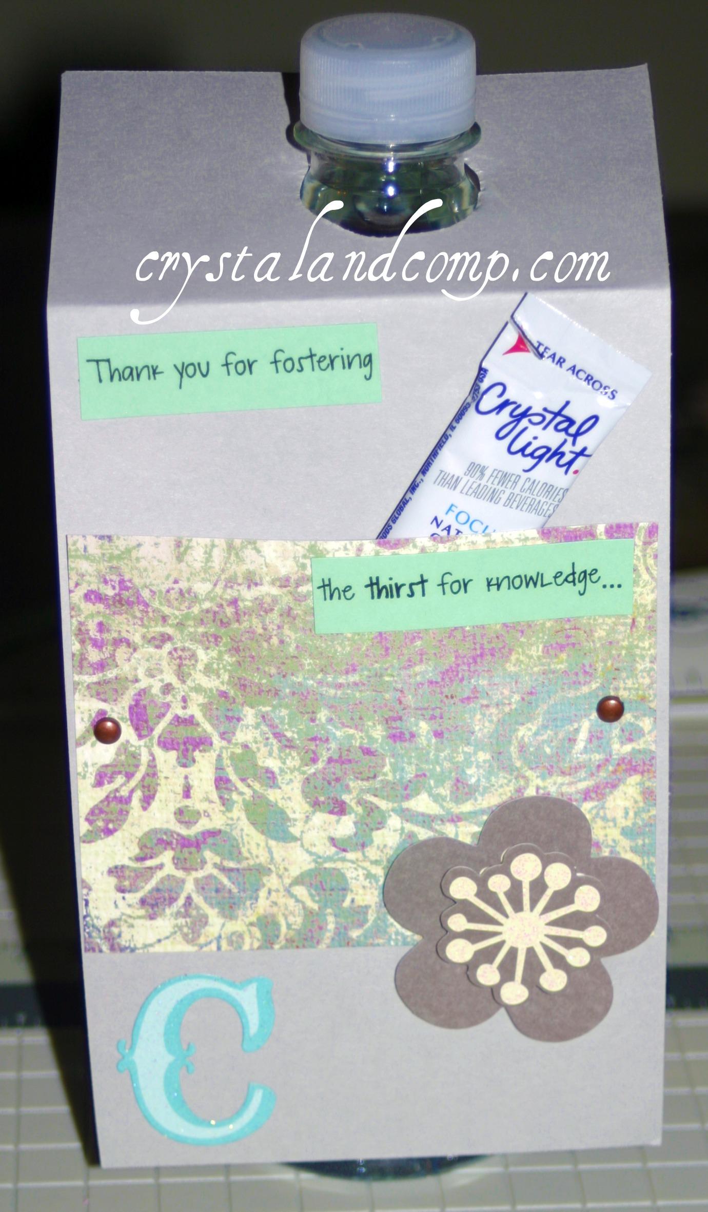 Diy Water Bottle Teacher Appreciation Gifts Diy Water Bottles