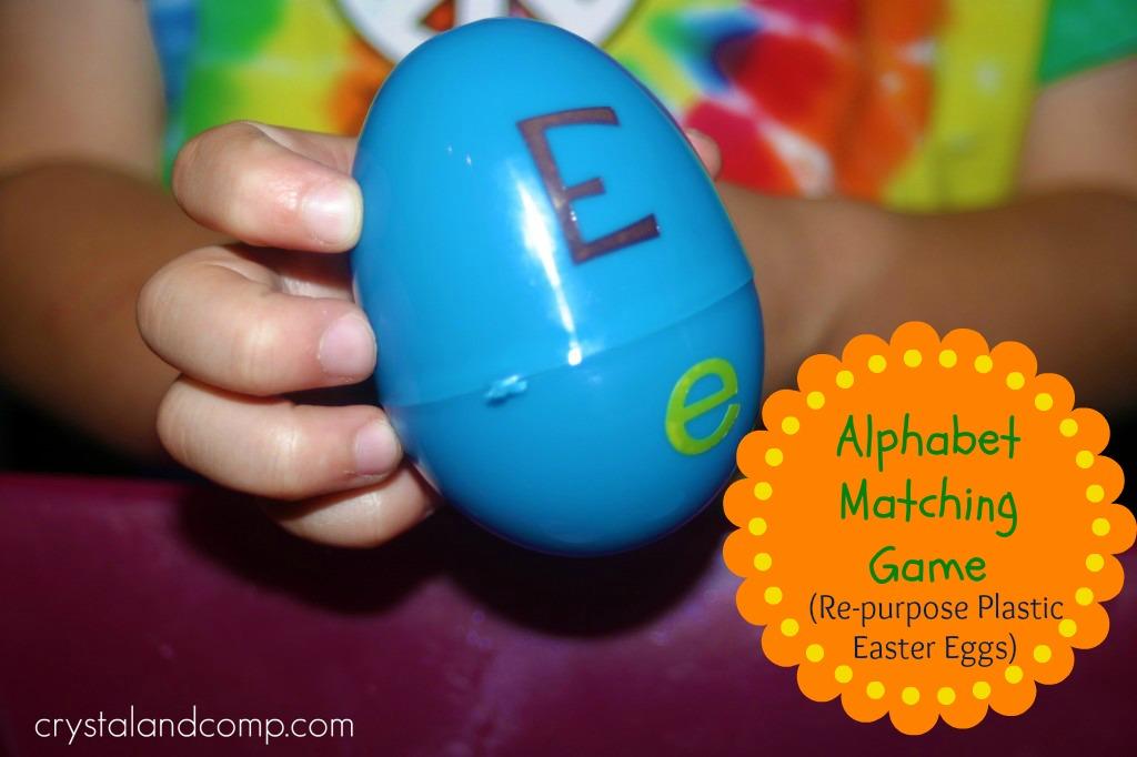 easter egg alphabet game