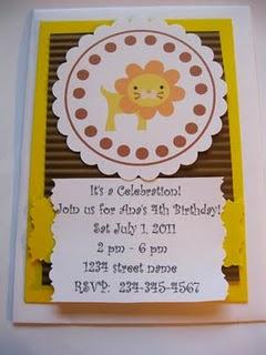 zoo birthday party for kids, Birthday invitations