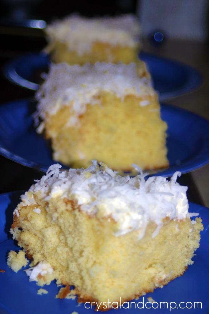 Easiest Ever Pina Colada Cake Recipe
