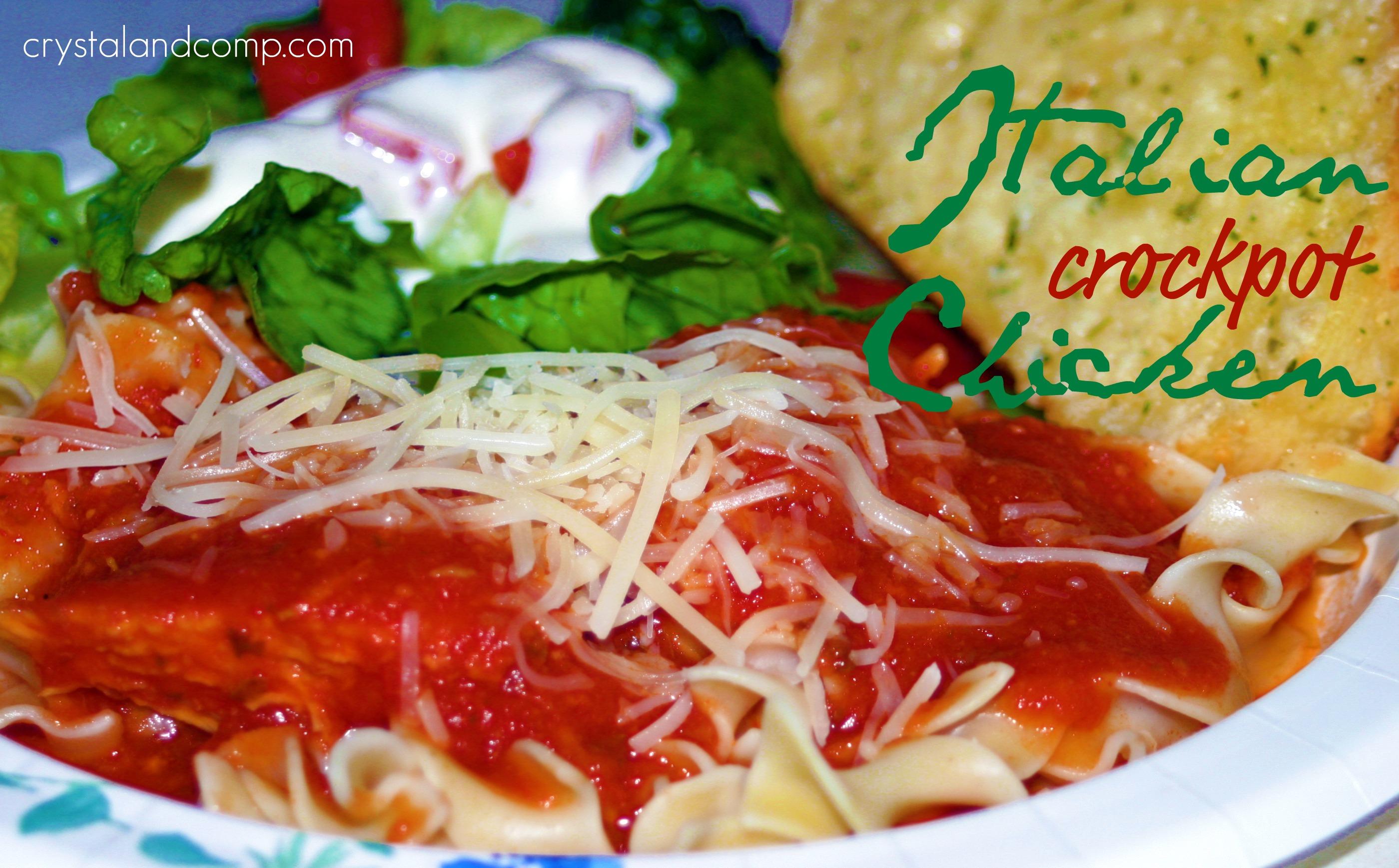 Crock pot chicken recipes pasta sauce