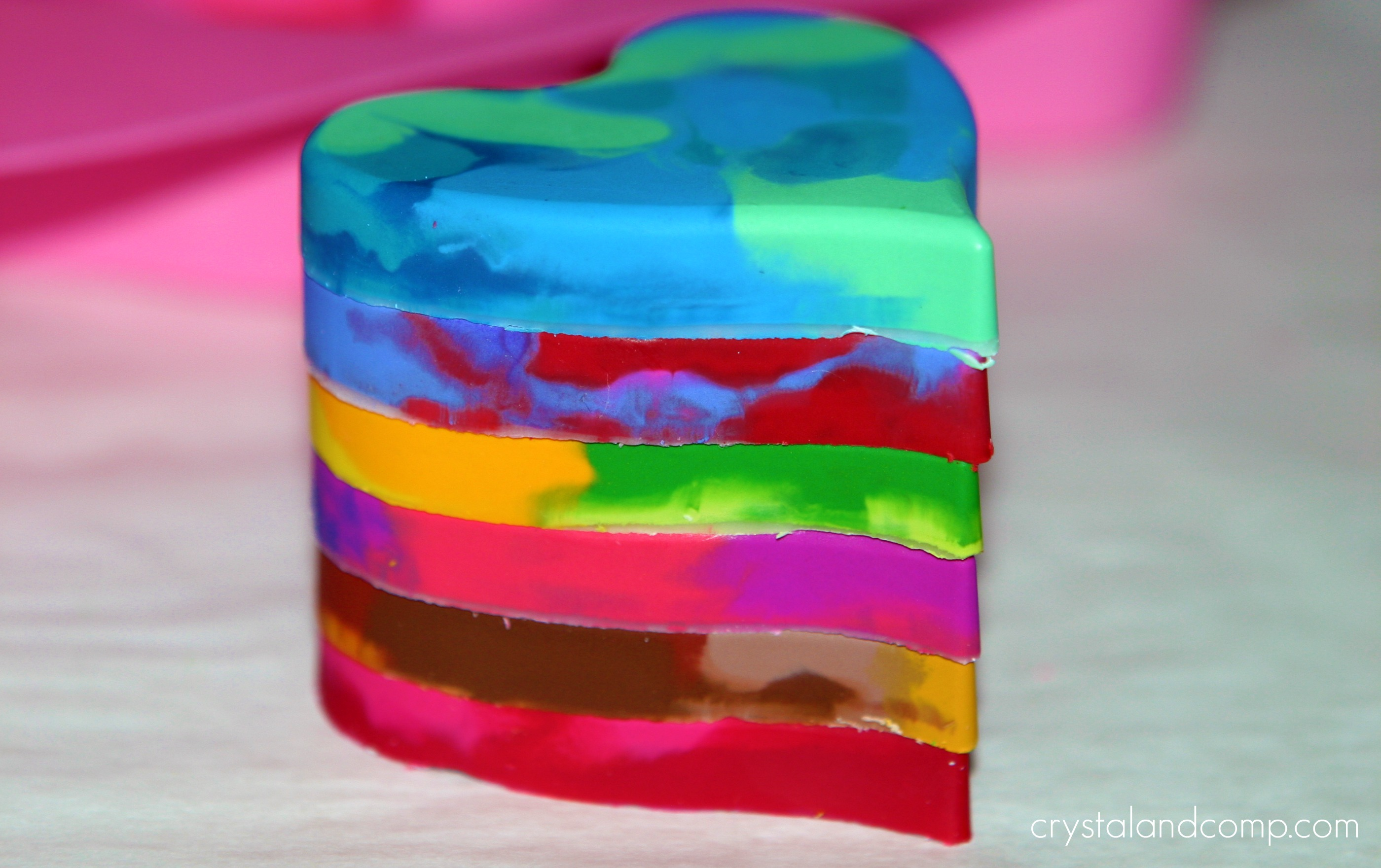 valentine u0027s day melted crayons heart craft preschool education