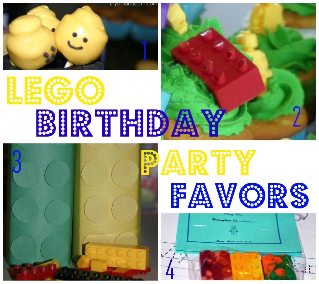 Lego Birthday Party Favors   CrystalandComp.com