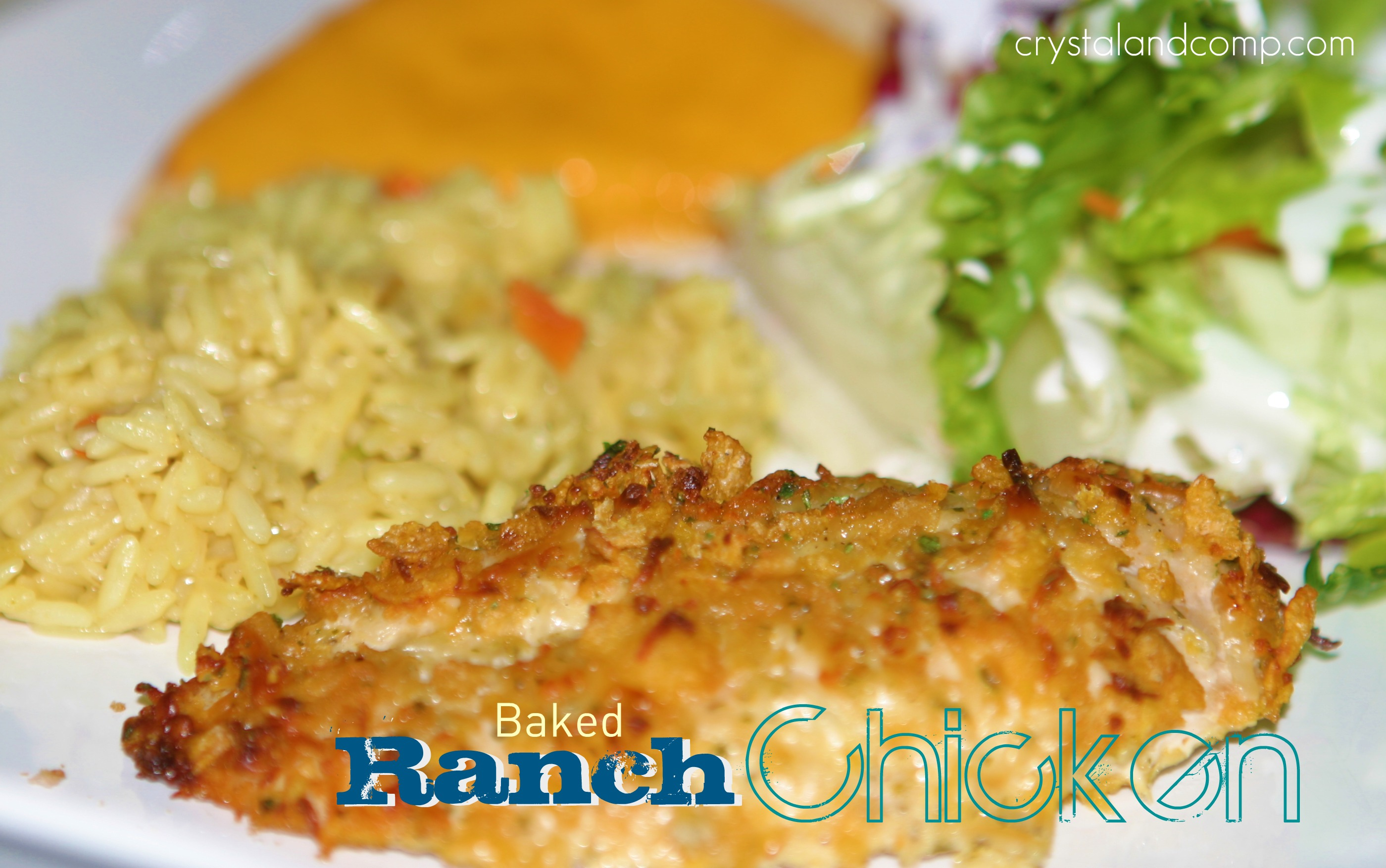 Easy recipes baked ranch chicken for Easy ranch