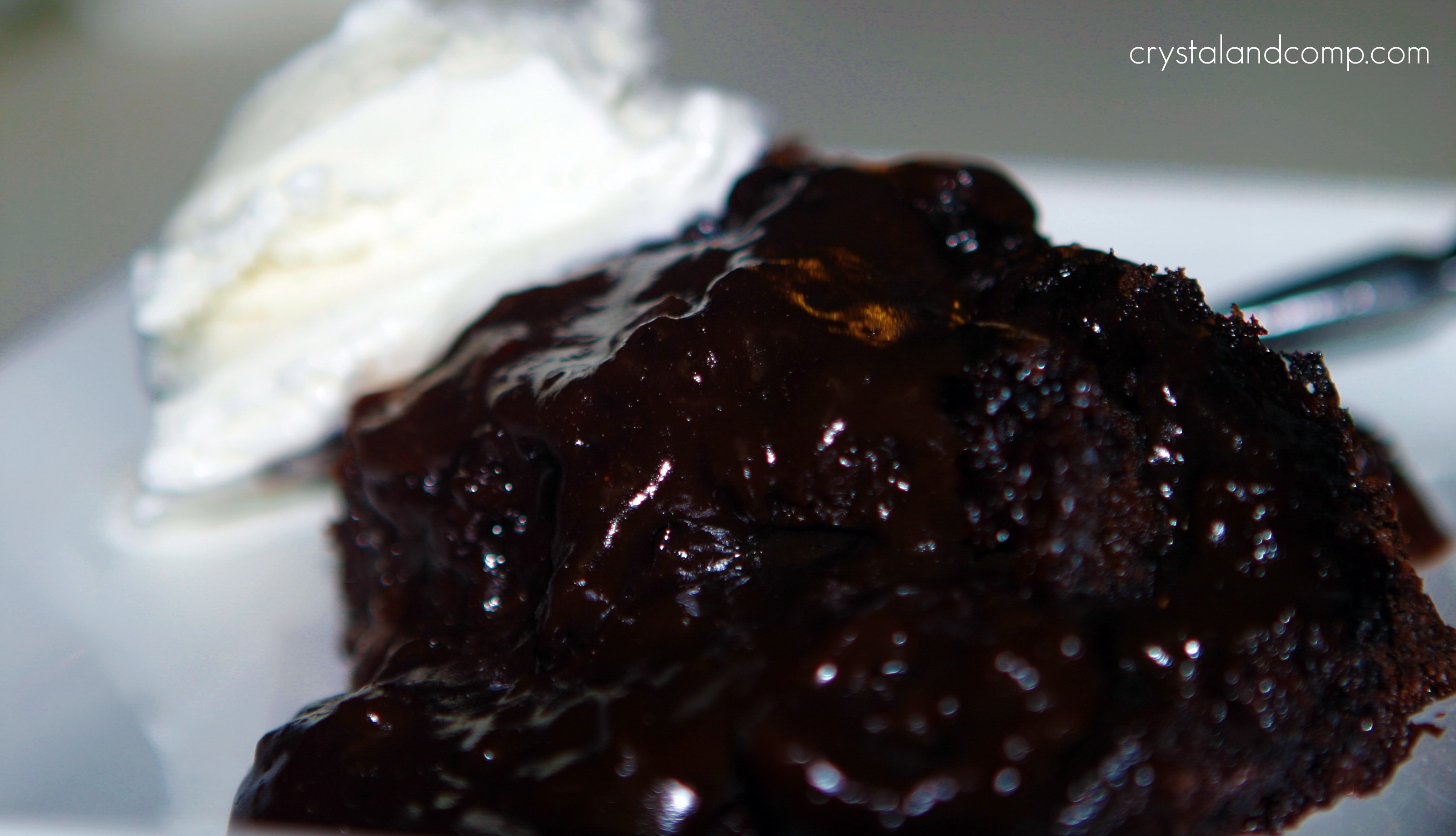 Easy Lava Cake Crock Pot