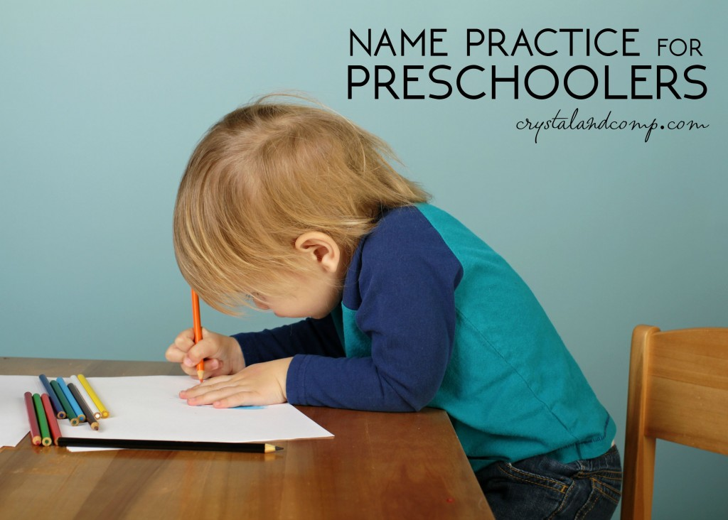 Name Handwriting Worksheets
