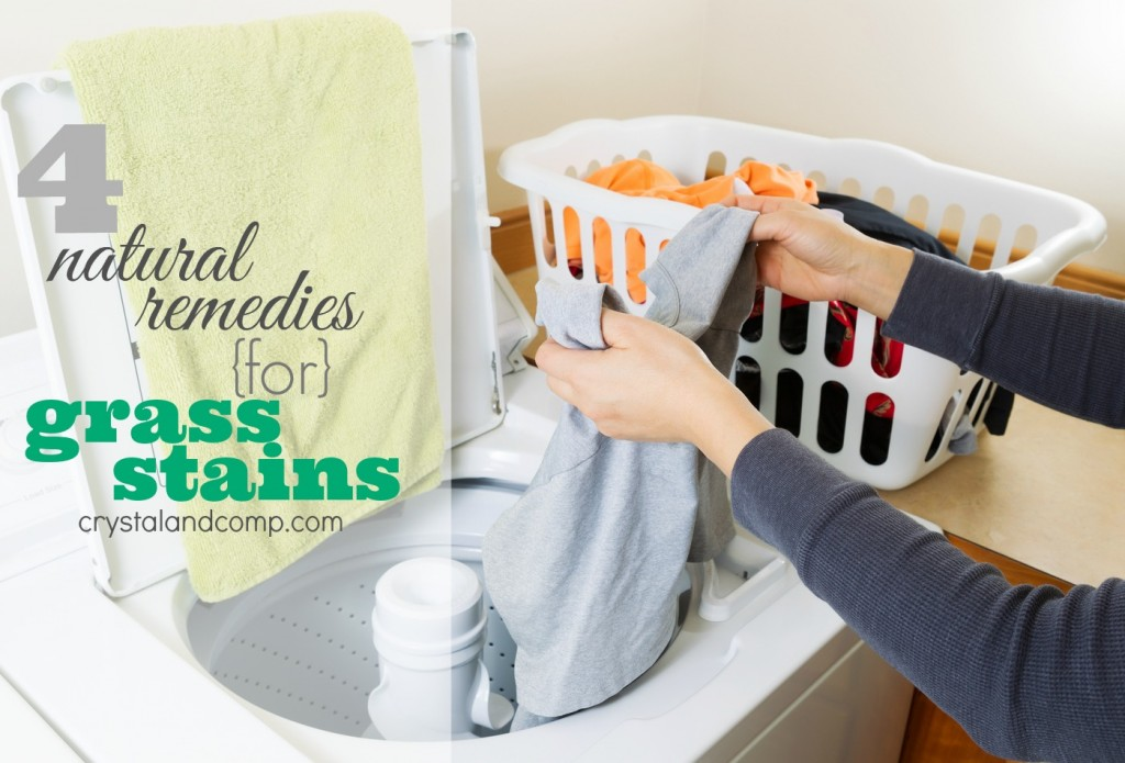 natural remedies for grass stains