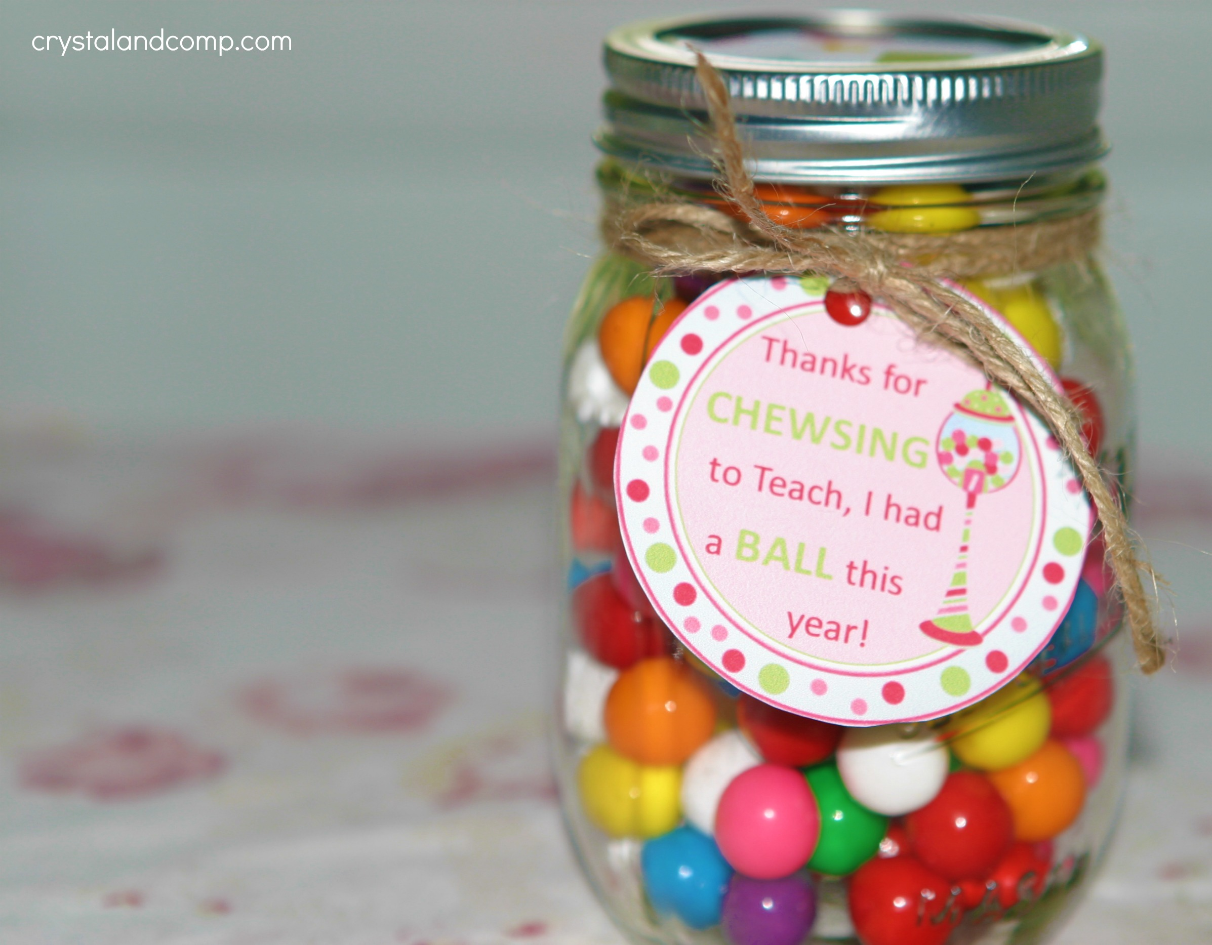 teacher appreciation gift ideas bubble gum