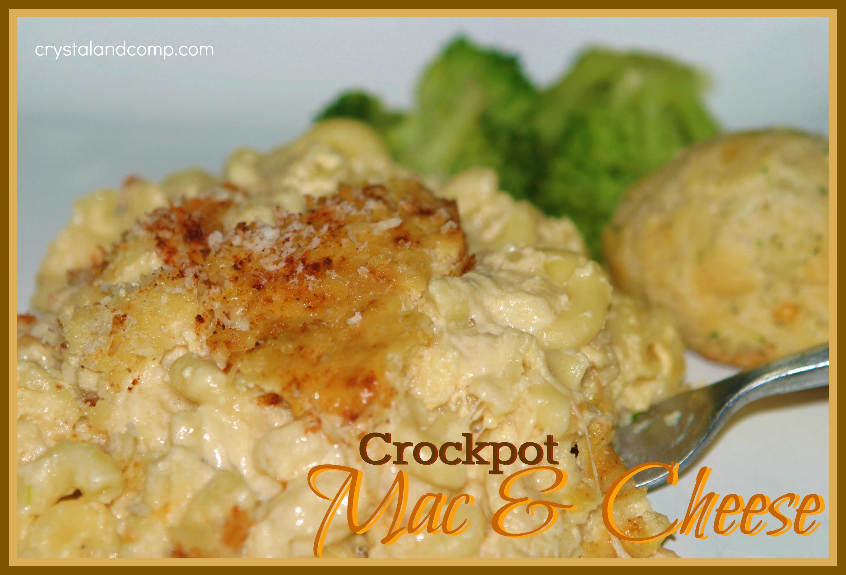 easy crock pot mac and cheese
