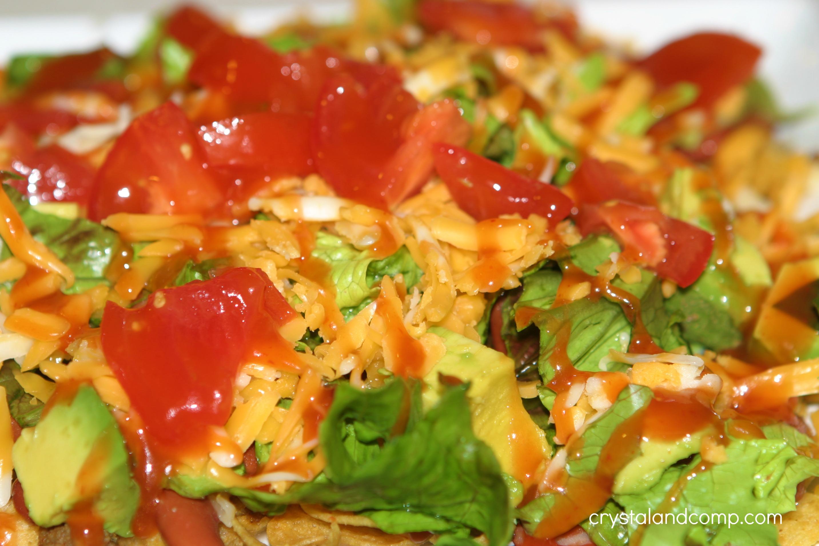 Easy Taco Salad (30 Minute Meal) | CrystalandComp.com
