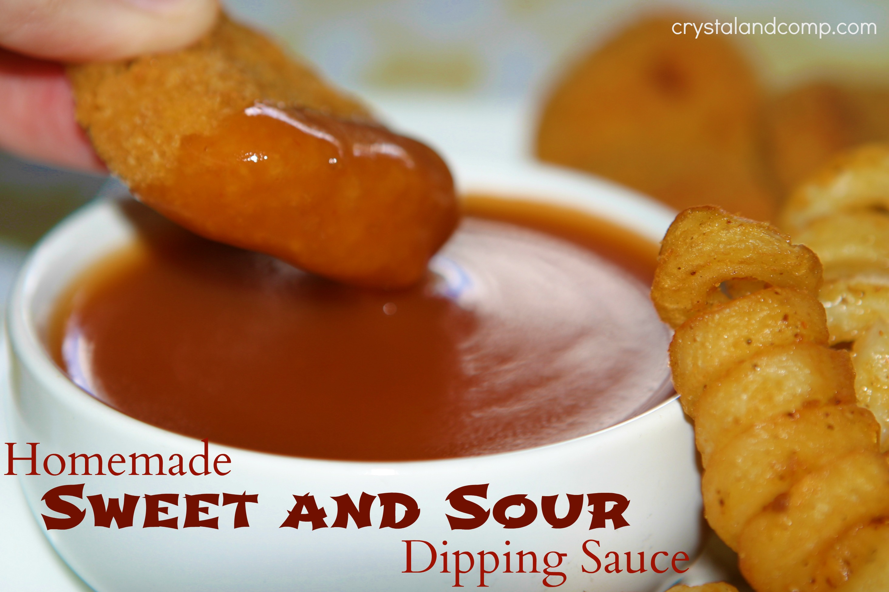 ... wondered how hard it would be to make my own sweet and sour sauce
