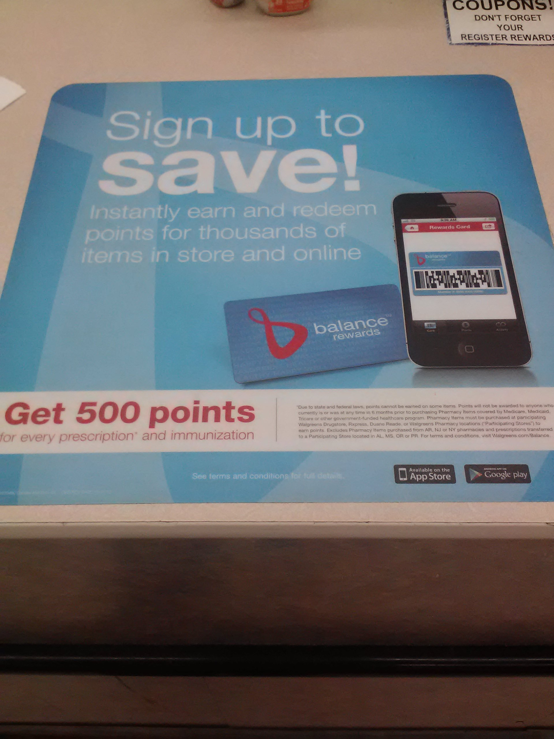Walgreens Balancerewards There Is An App For That