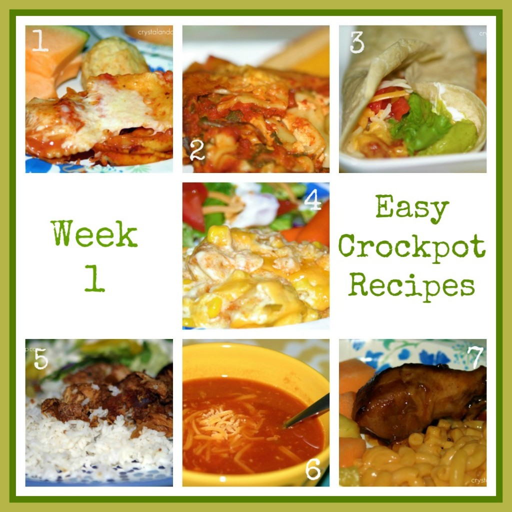 Easy Recipes Two Weeks Of Crockpot Meals A Slob Comes Clean