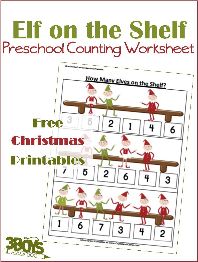 elf-counting-christmas-printable-worksheets