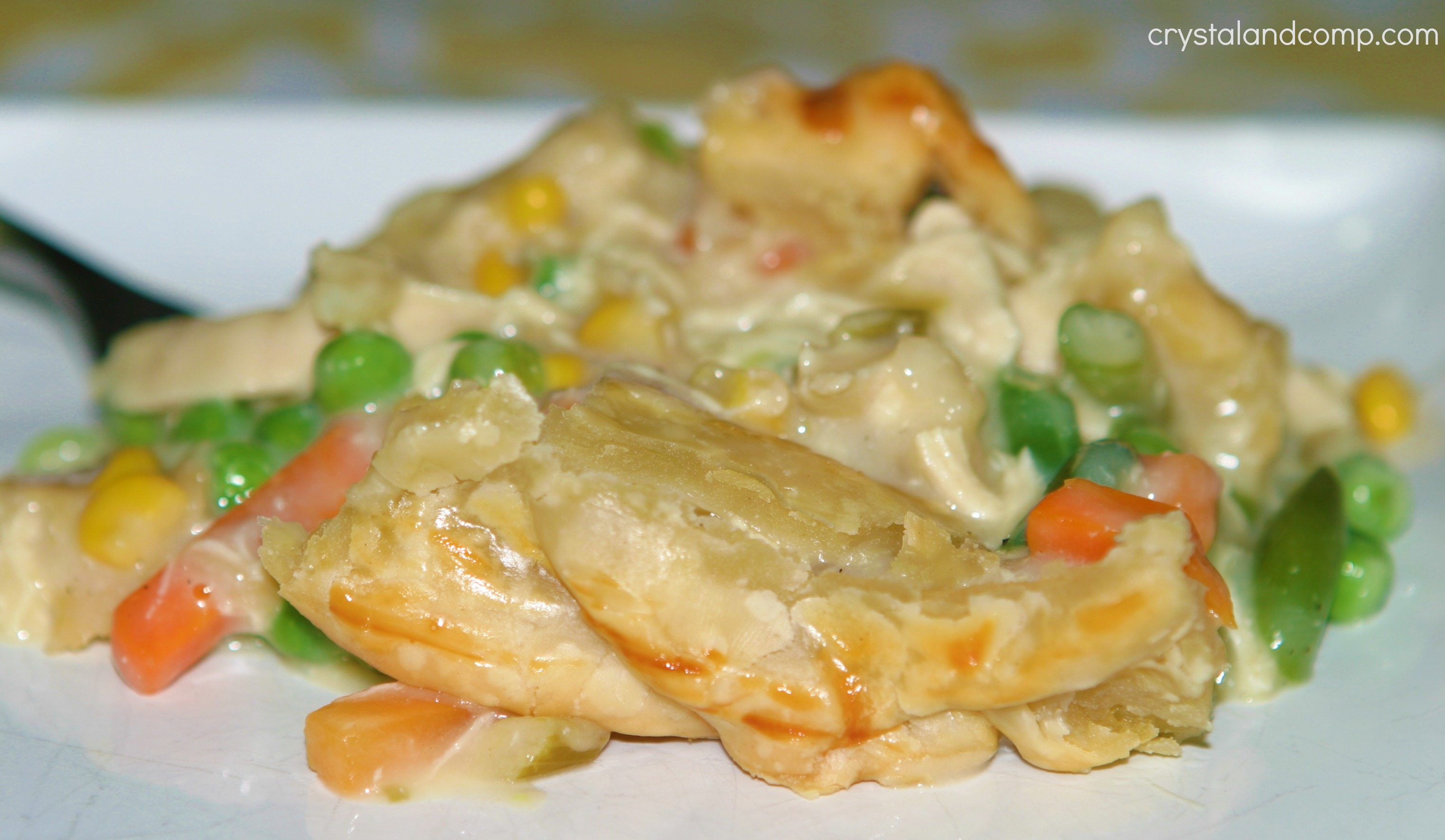 Easy Recipes: Chicken Pot Pie | CrystalandComp.com