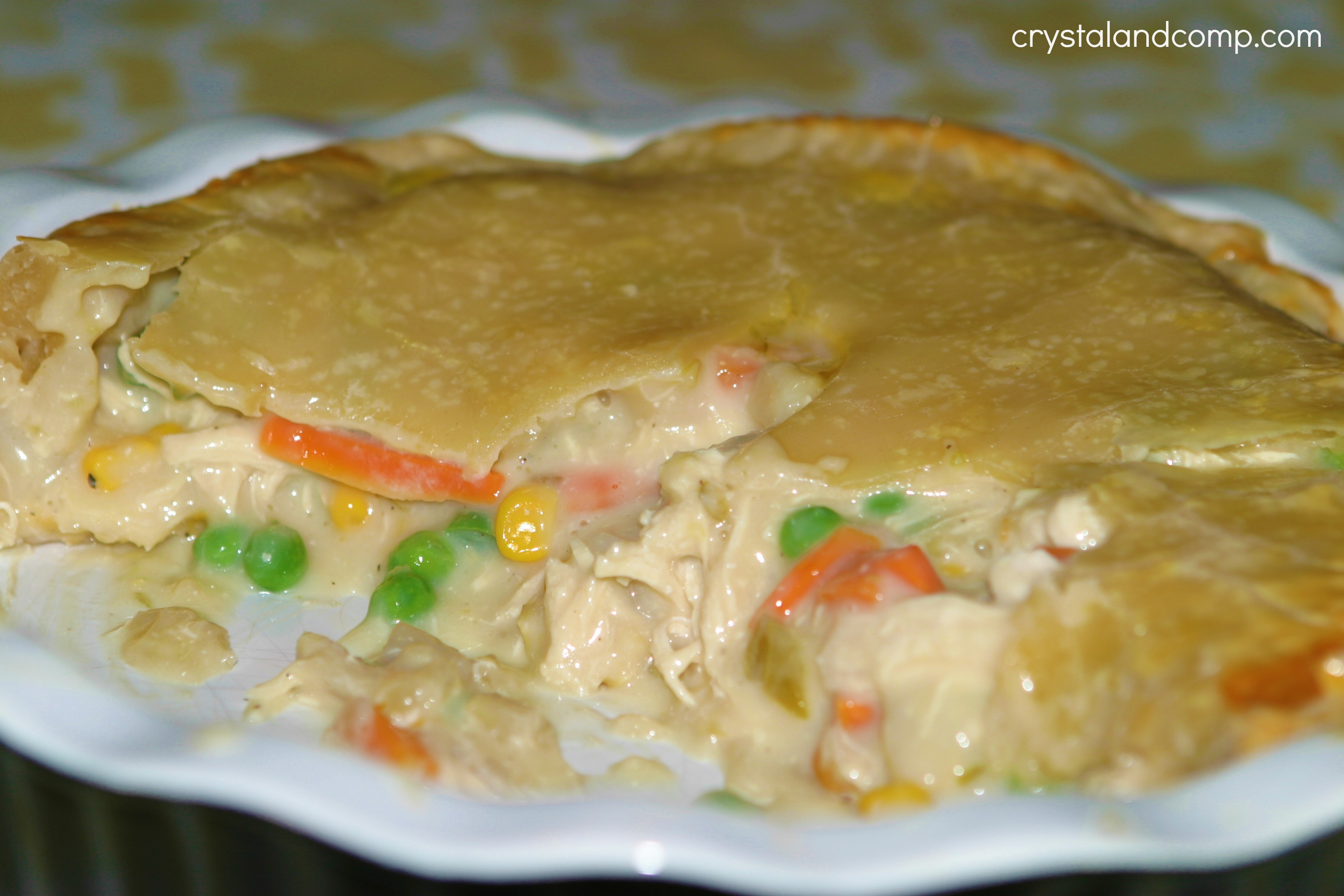 Easy Recipes: Chicken Pot Pie | CrystalandComp.com