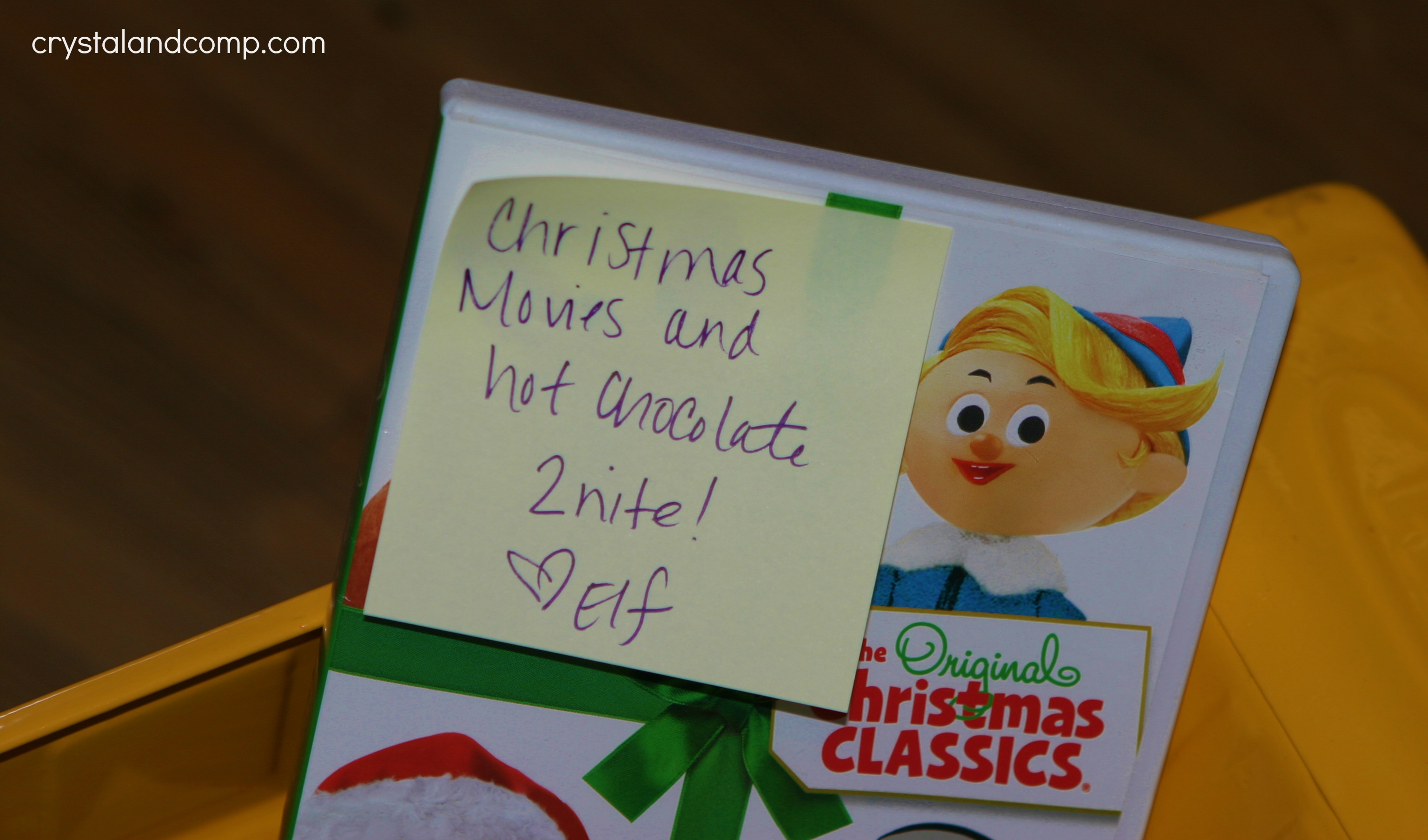 elf on the shelf chocolate and a movie crystalandcomp com