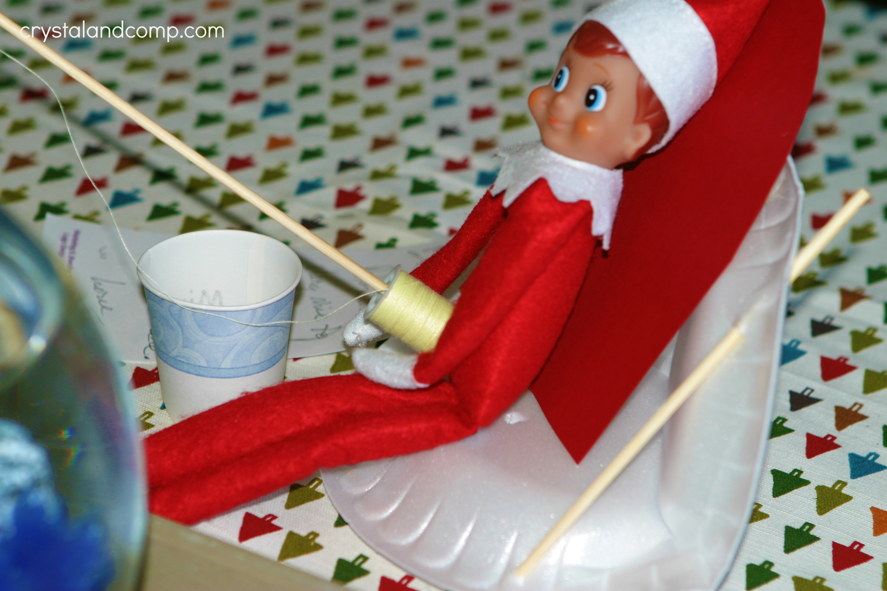 elf on the shelf gone fishing macgyver style crystalandcomp com