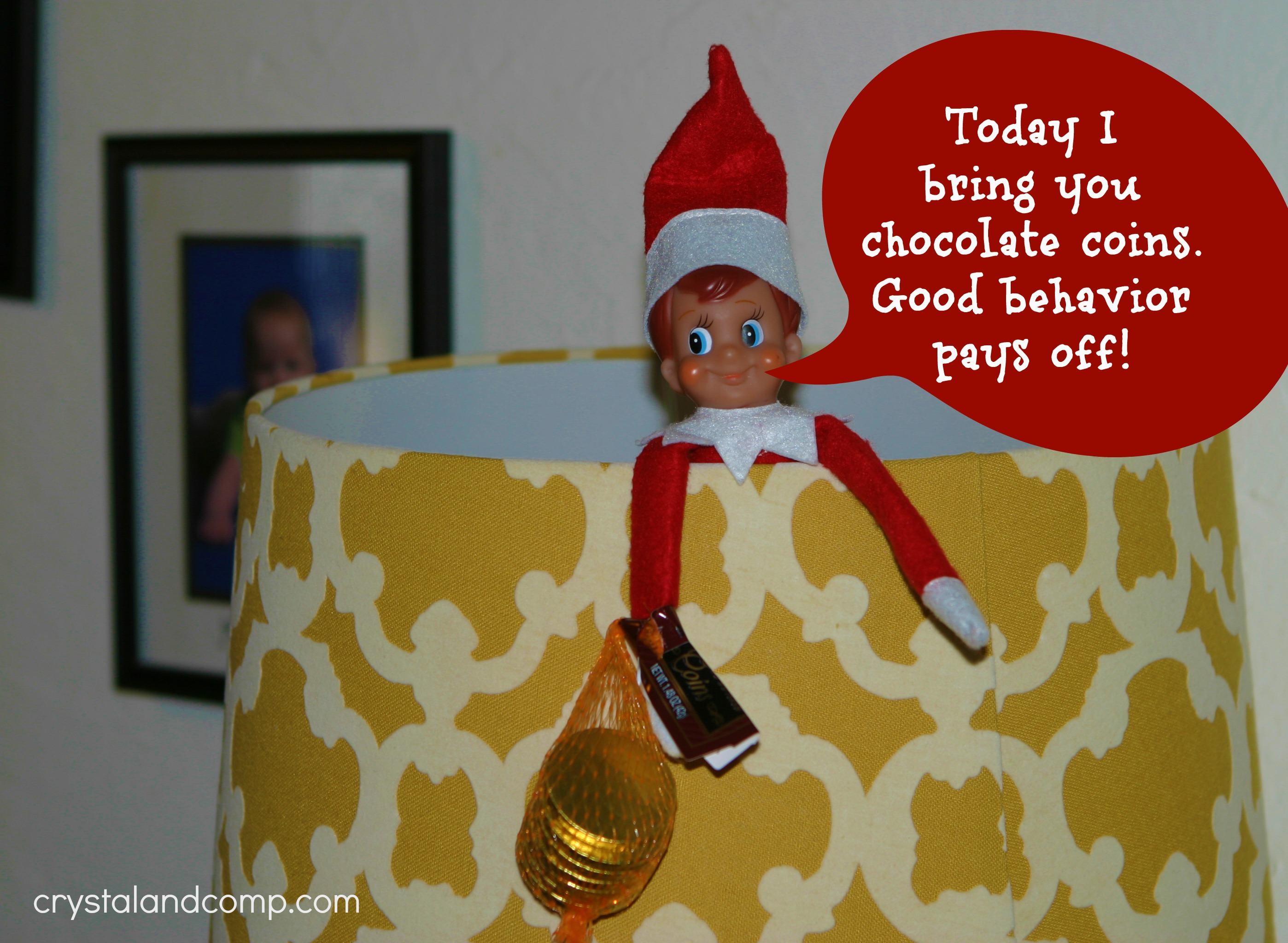 elf on the shelf good behavior pays off
