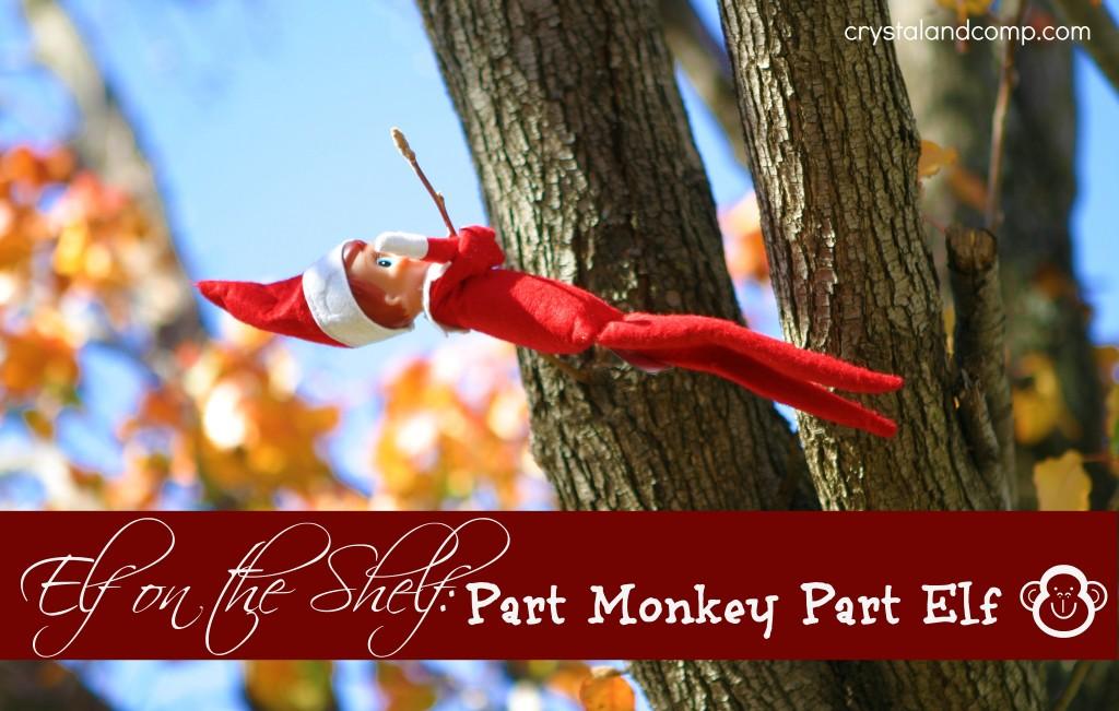 elf on the shelf monkey
