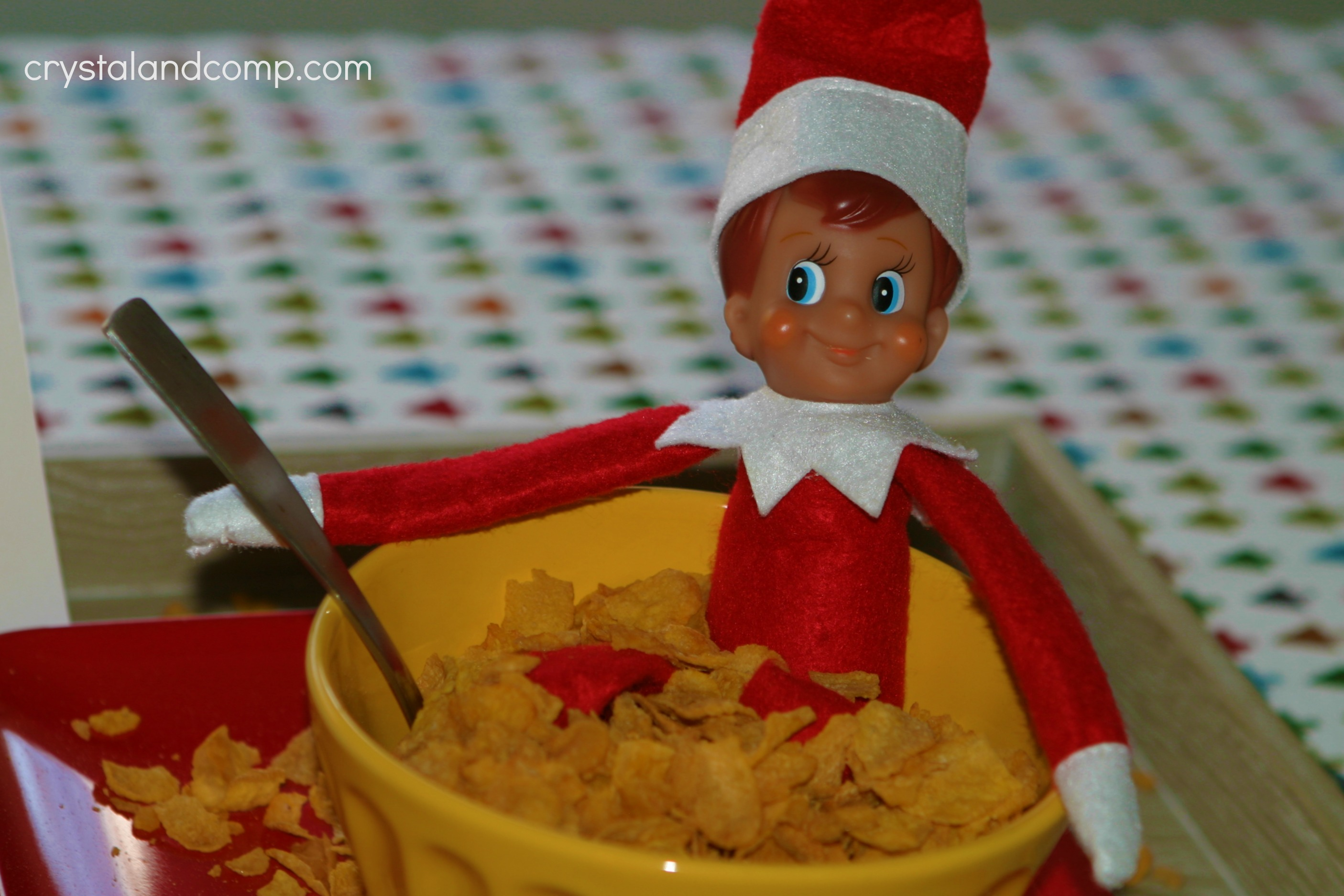 Elf on the Shelf: Long Flights to the North Pole Make Elf Hungry ...