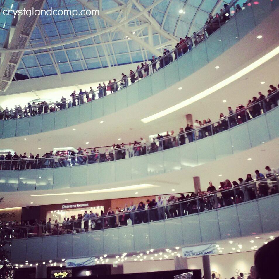 galleria mall people