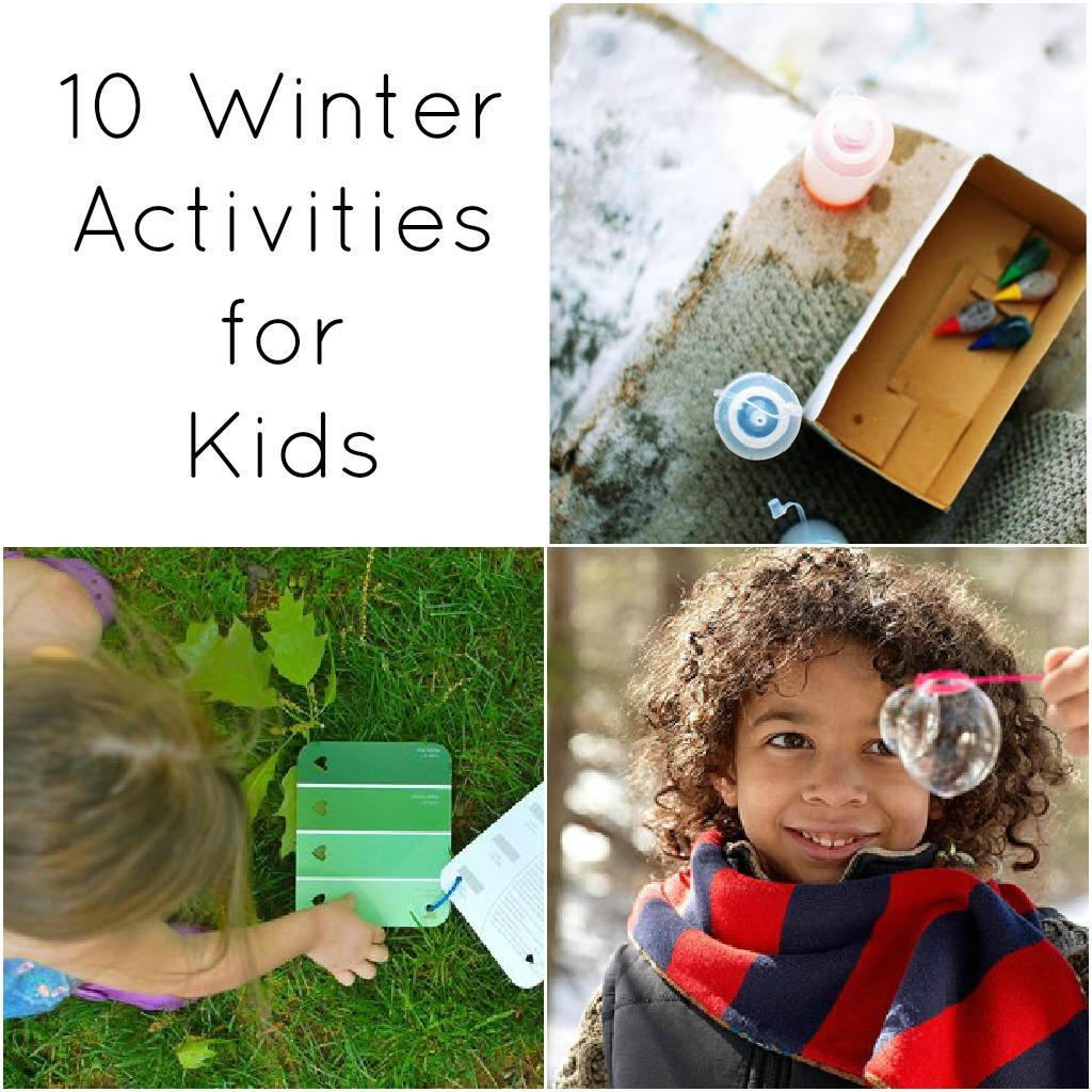 10 winter activities for kids