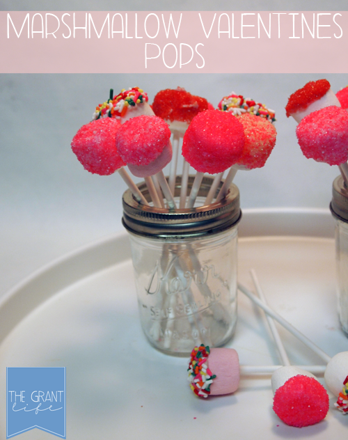 Marshmallow Valentines Pops Cover