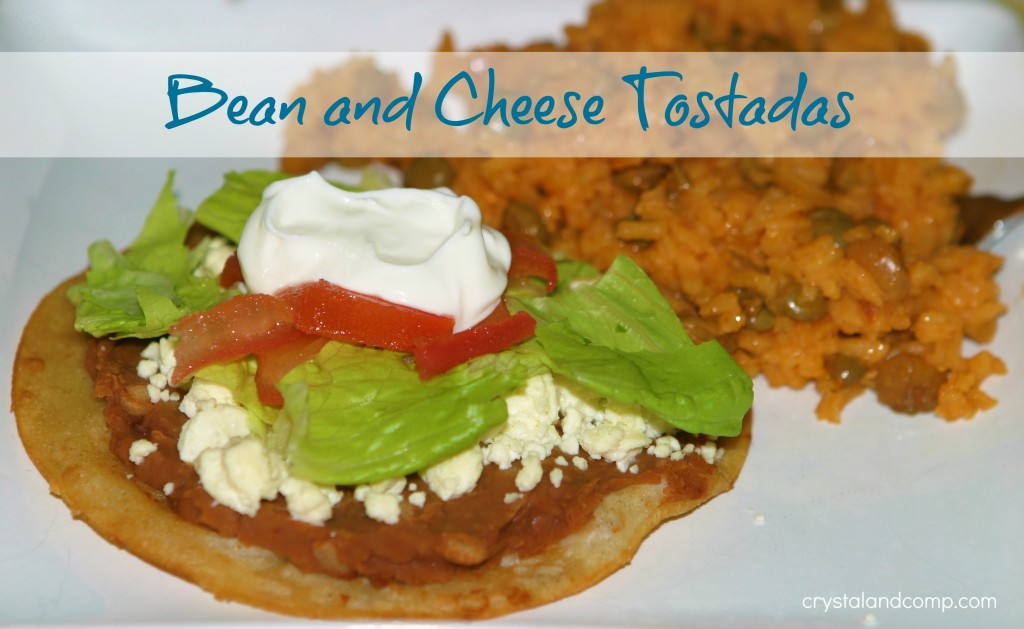 bean and cheese tostada recipes