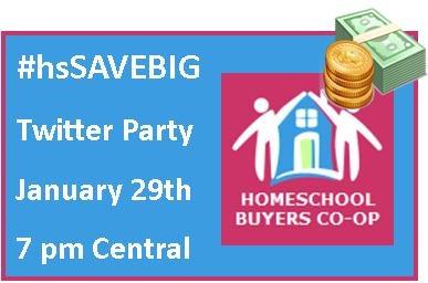 homeschool buyers twitter party