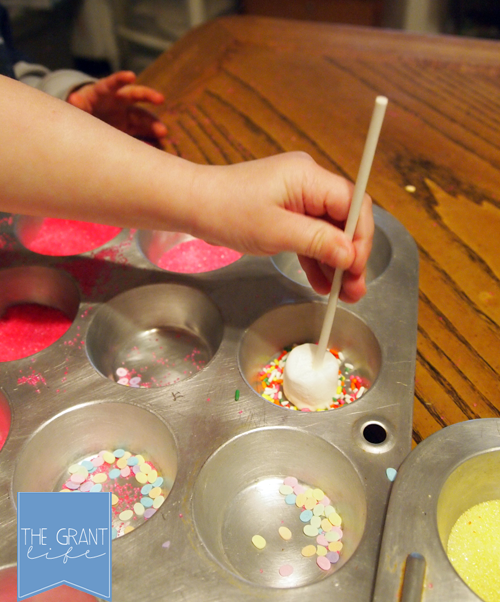 Activities For Kids Marshmallow Valentines Pops