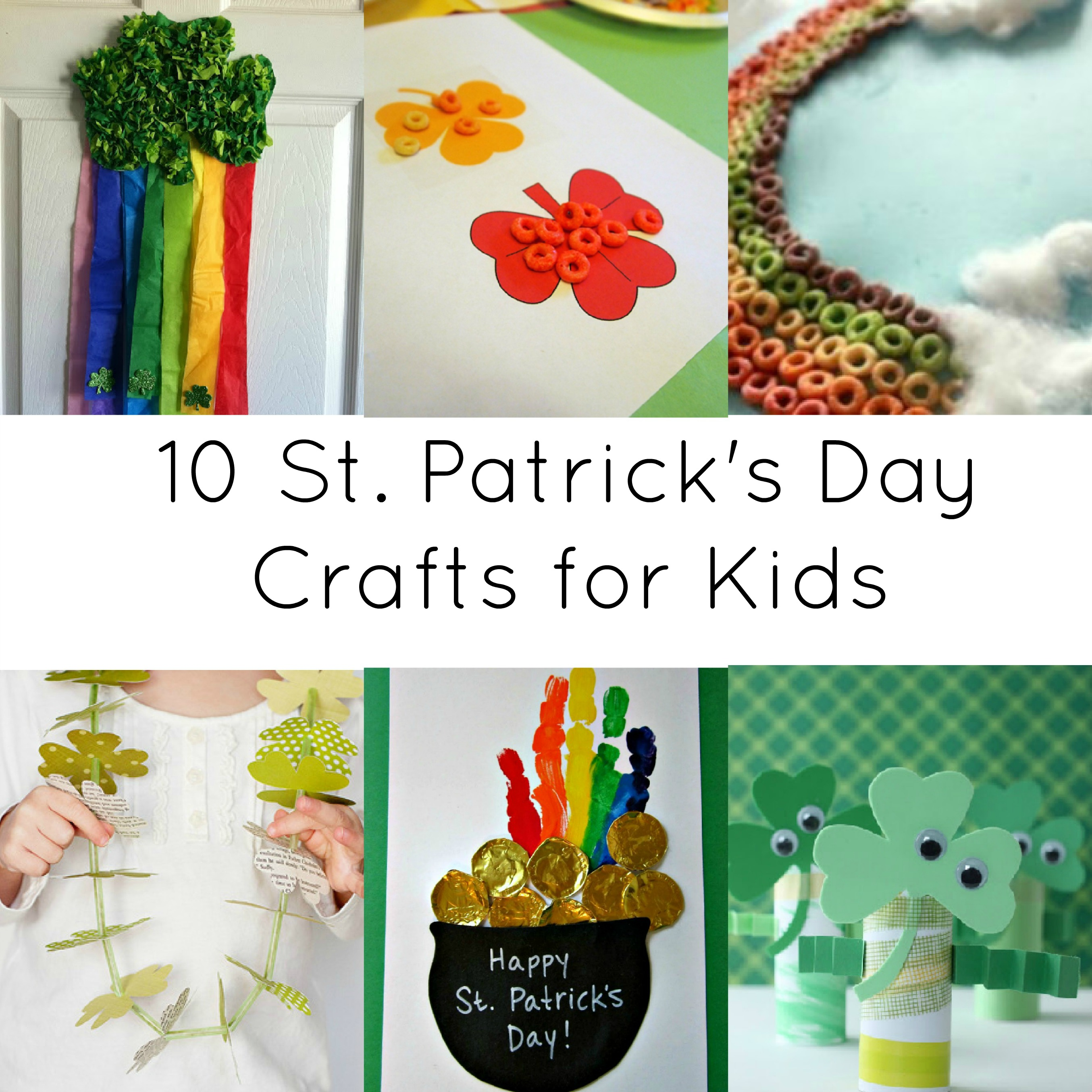 Activities for kids 10 st patrick day crafts for St patrick day craft ideas