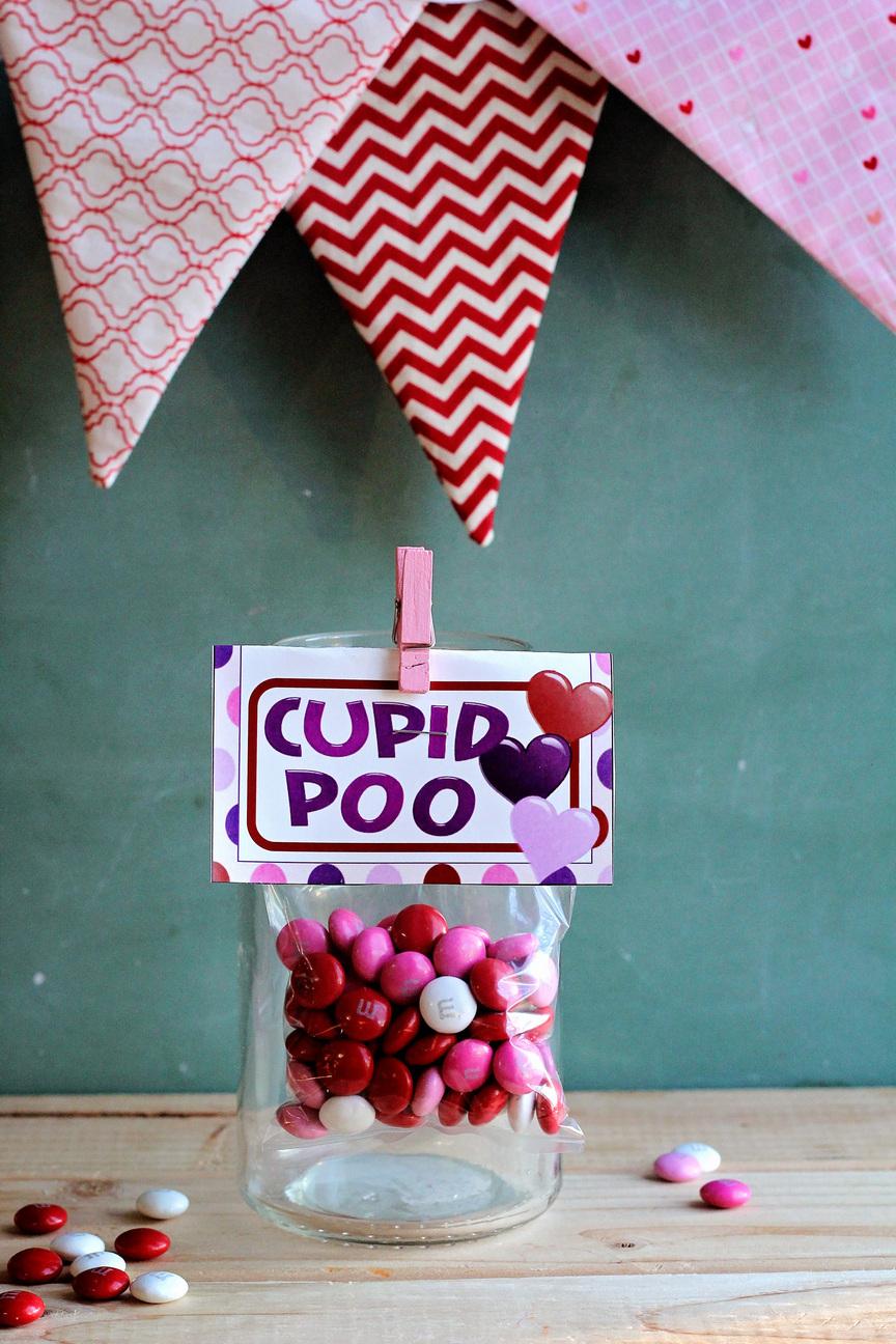 Cupid Valentine Printable