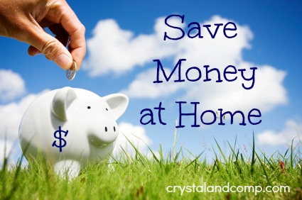 saving money at home