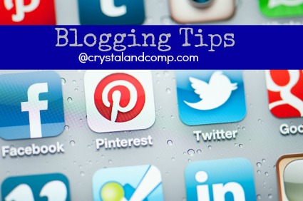 social media blogging tips