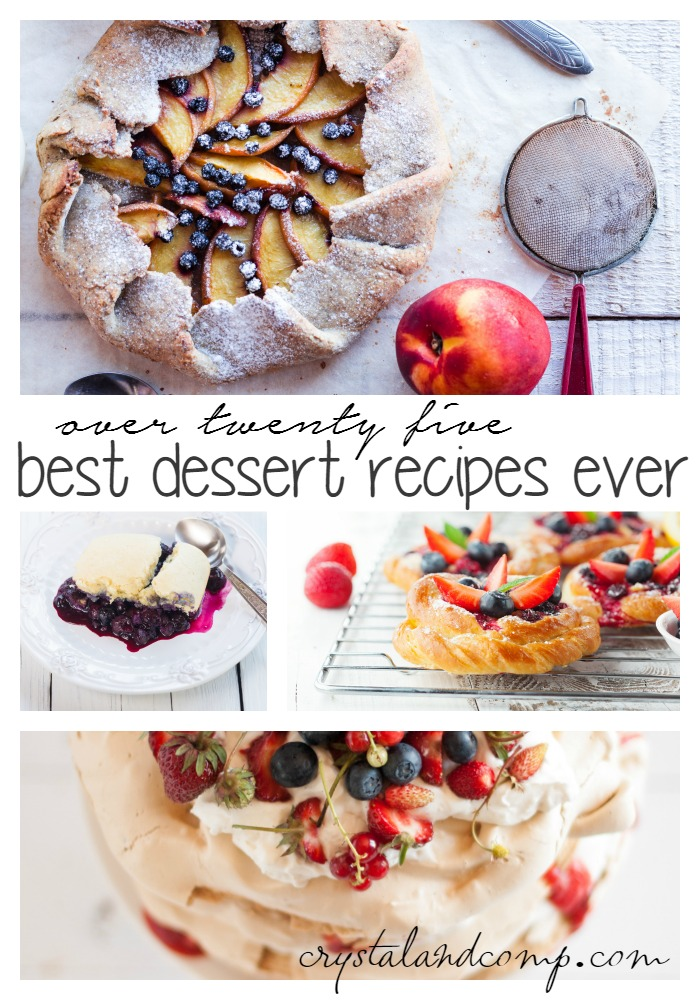25 best dessert recipes ever