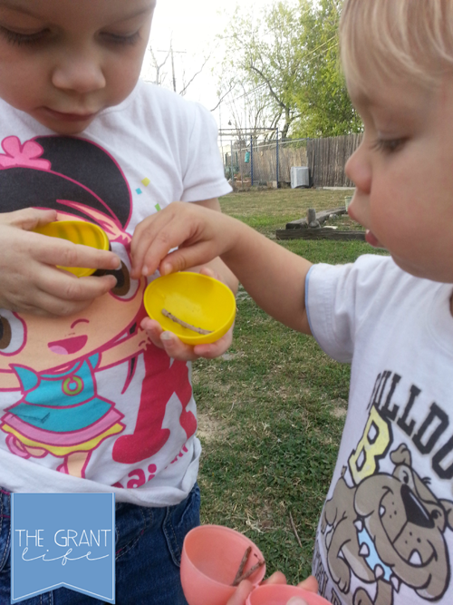 Activities for Kids: Reverse Easter Egg Hunting