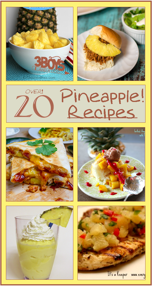 Over-20-Fresh-Pineapple-Recipes