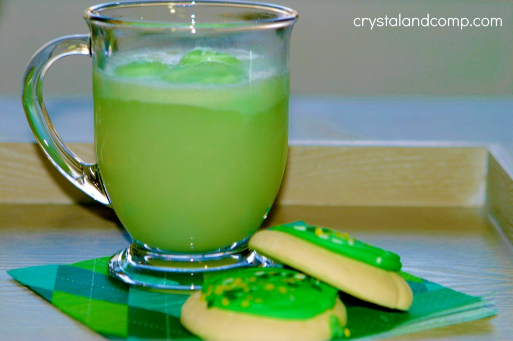 St Patrick Day Crafts green punch