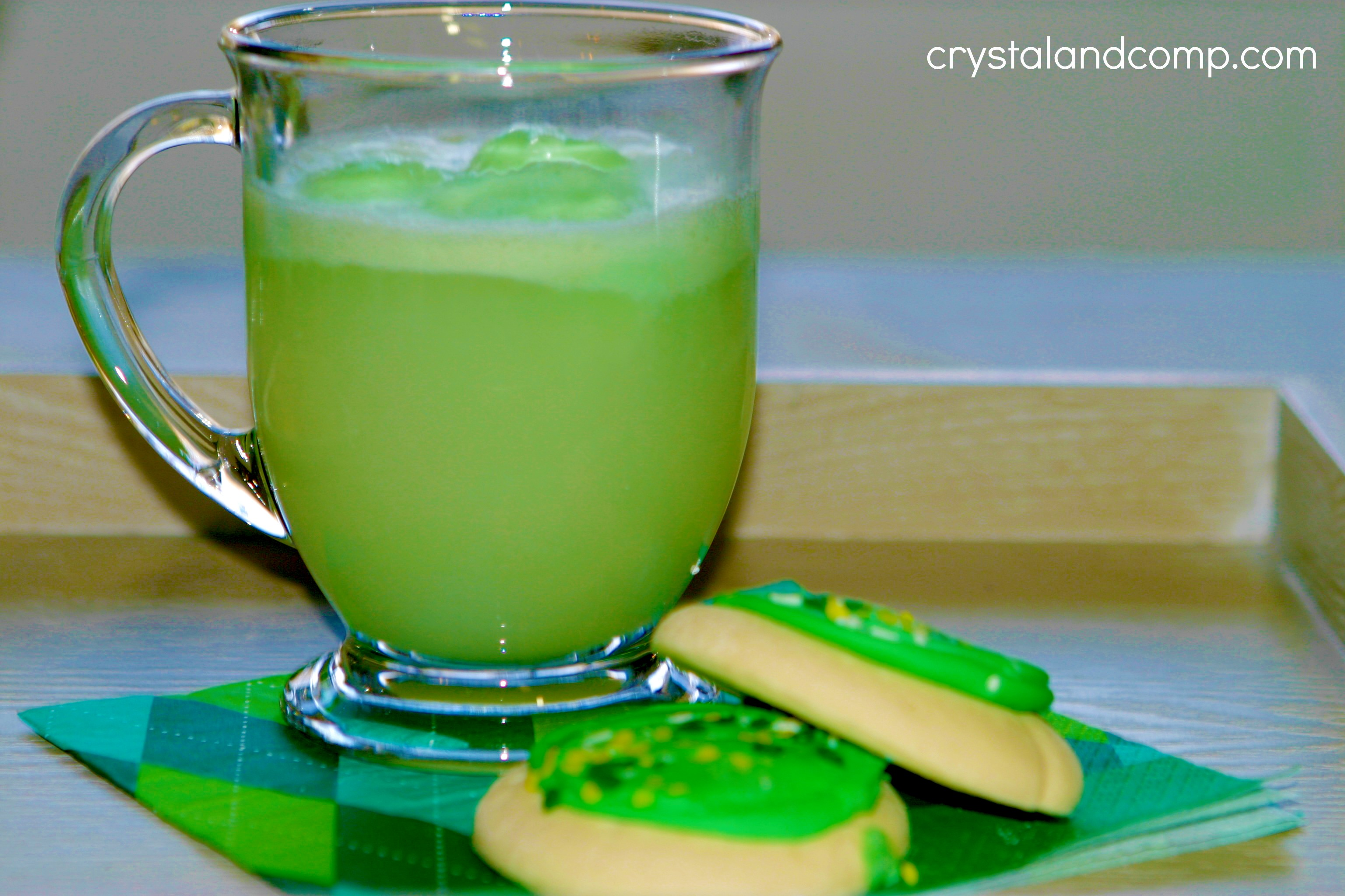 St pattys day crafts - St Patrick Day Crafts Green Punch