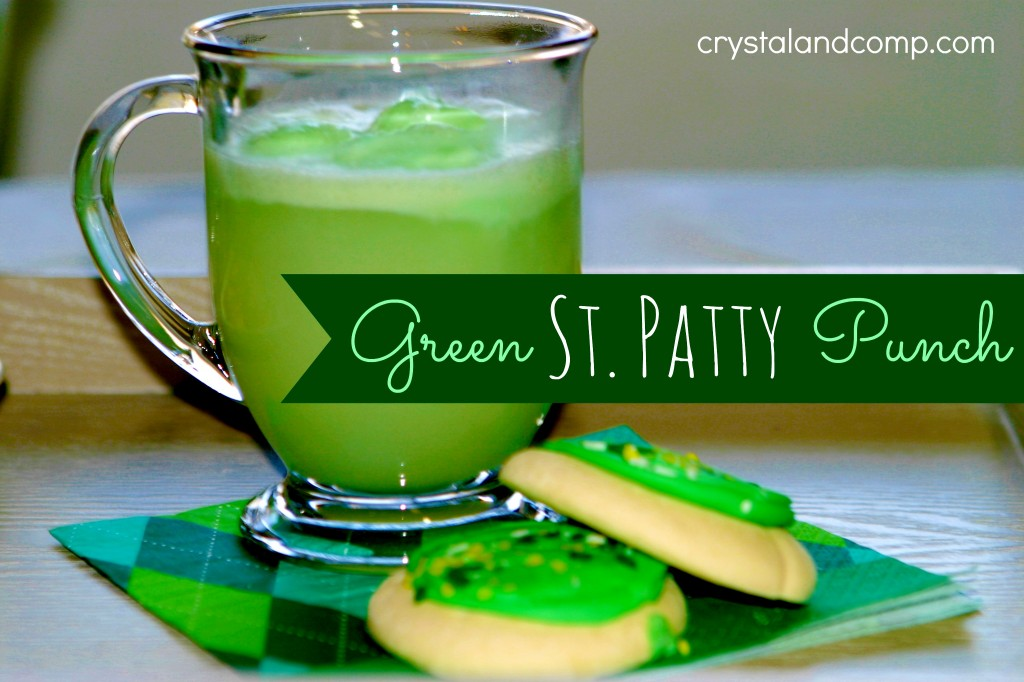 St Patrick Day Crafts how to make green punch