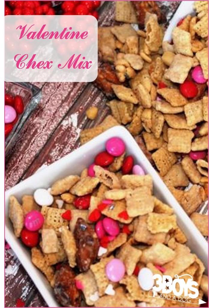 Valentine-Chex-Mix
