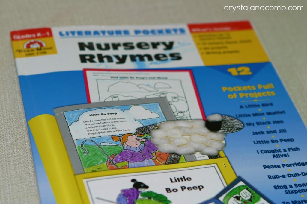 preschool homeschool literature pockets