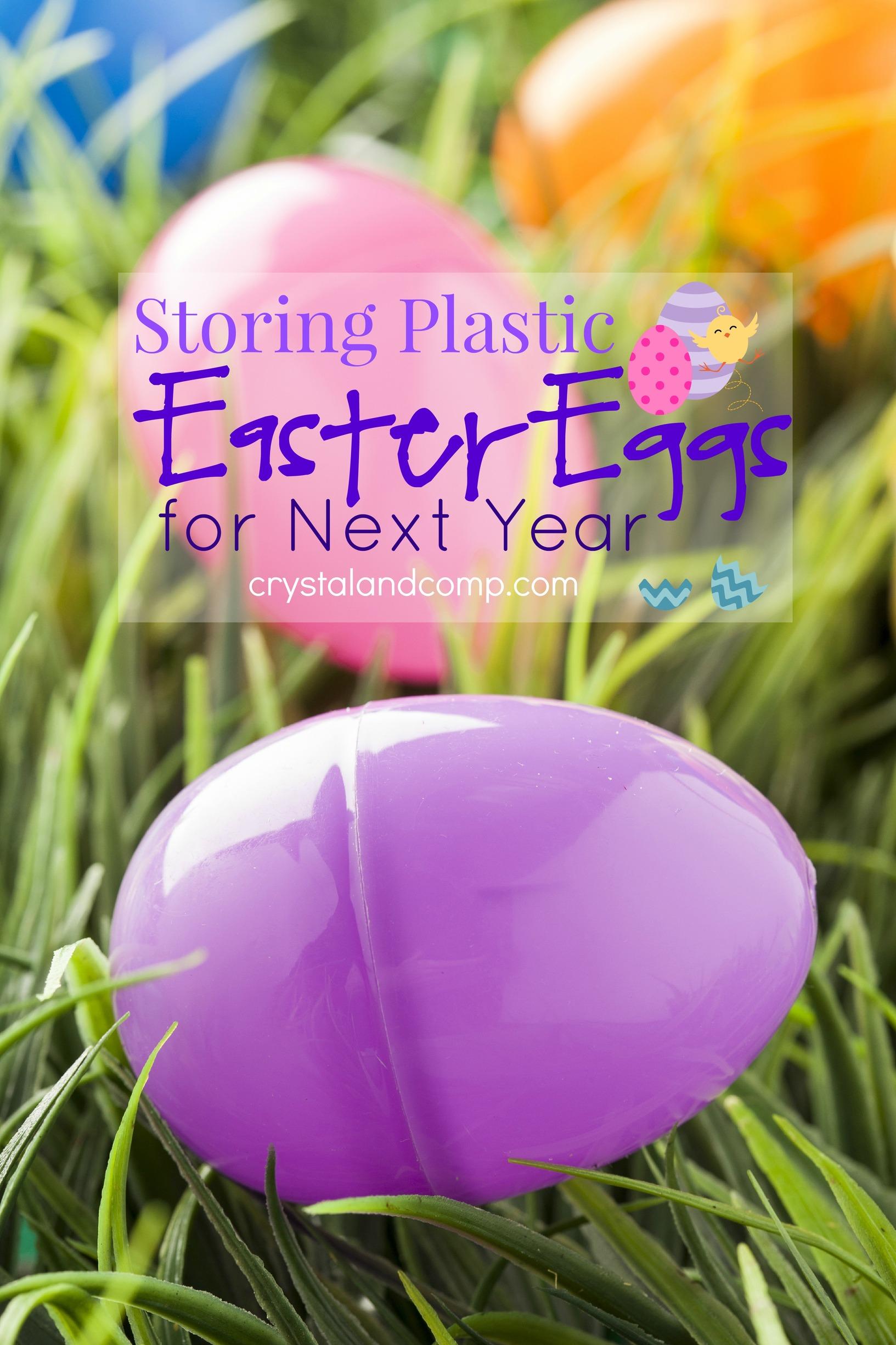 Storing Plastic Easter Eggs For Next Year