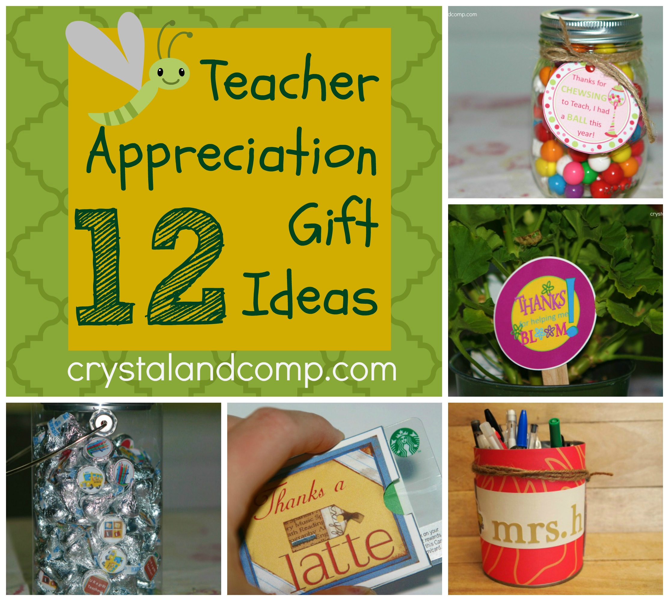 Classroom Ideas For Teacher Appreciation Week ~ Teacher appreciation gift ideas