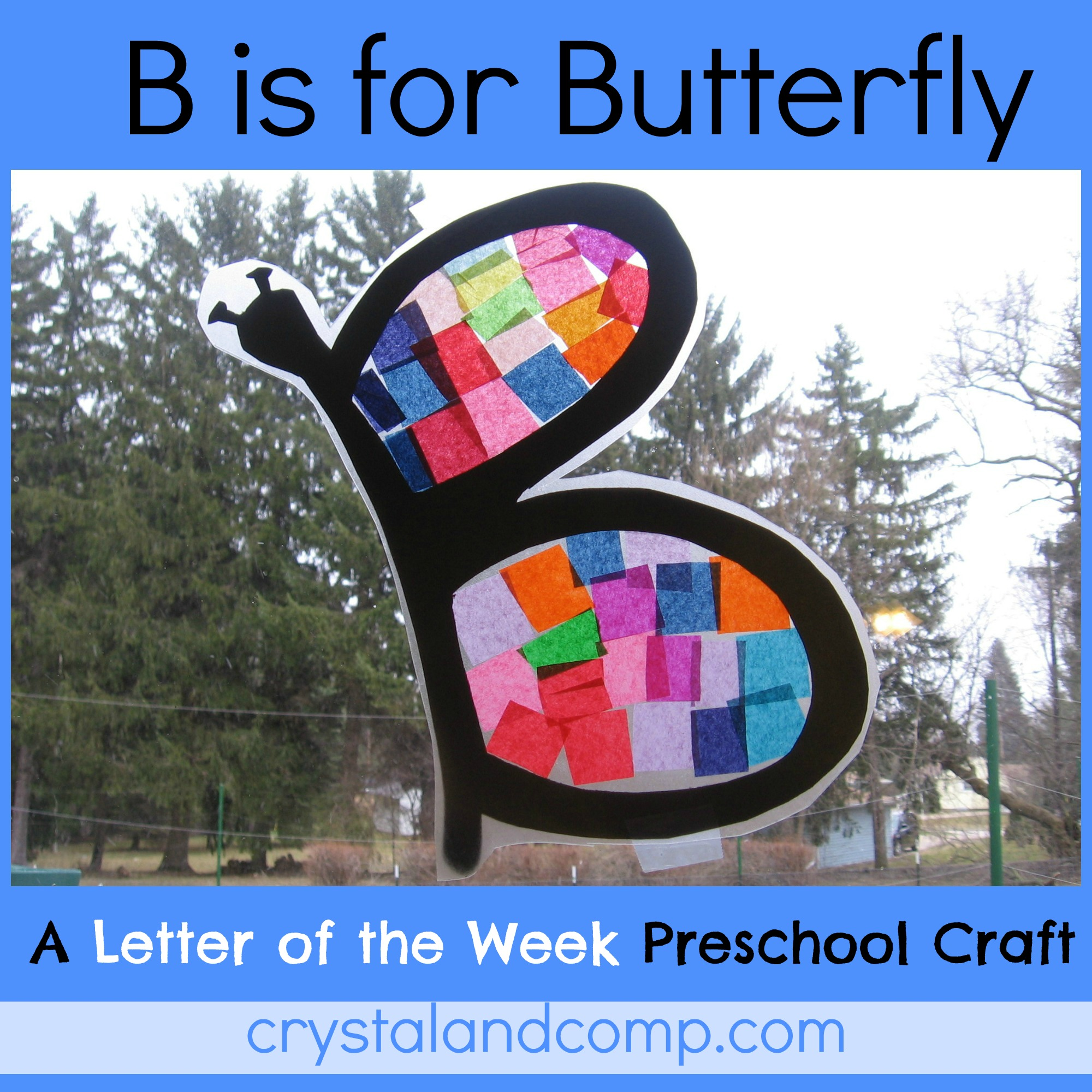 Letter of the Week: B is for Butterfly